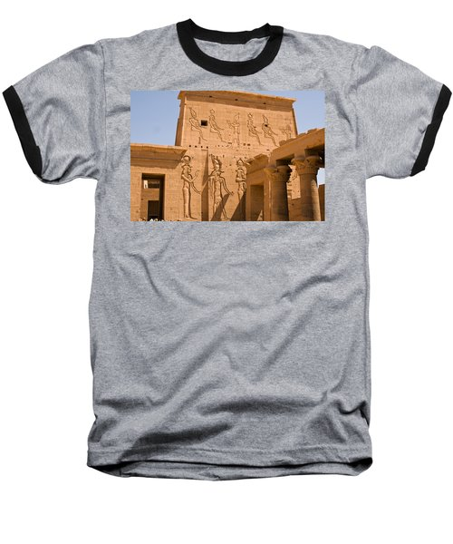 Temple Exterior Baseball T-Shirt