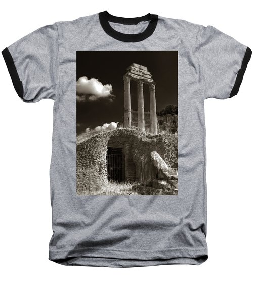 Temple Of Castor And Polux Baseball T-Shirt