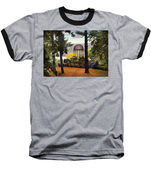 Temple Of Love In Autumn Baseball T-Shirt