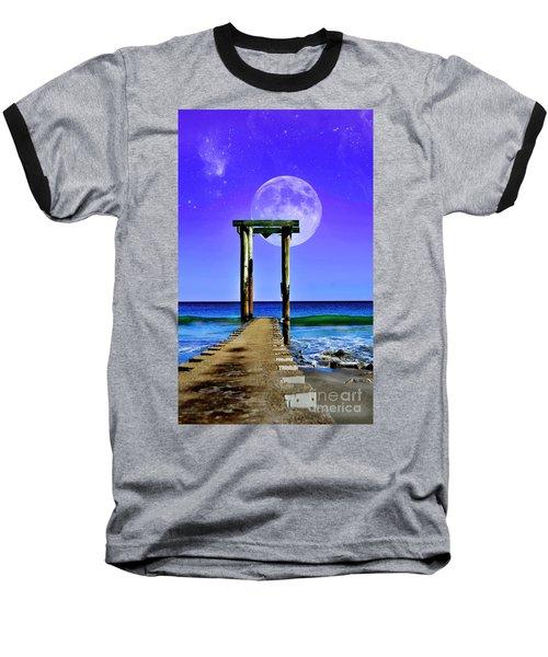 Temple Of The Atlantic Baseball T-Shirt