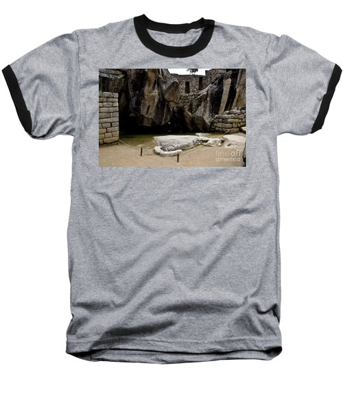 Temple Of The Condor Baseball T-Shirt by Kathy McClure