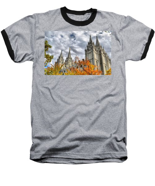 Temple Trees Baseball T-Shirt
