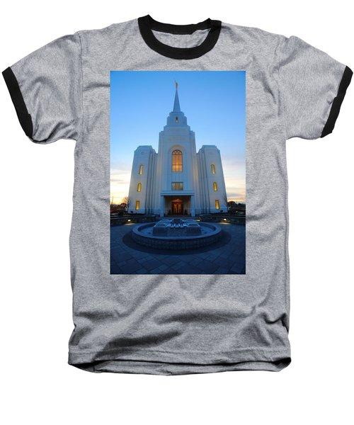 Temple Work Baseball T-Shirt