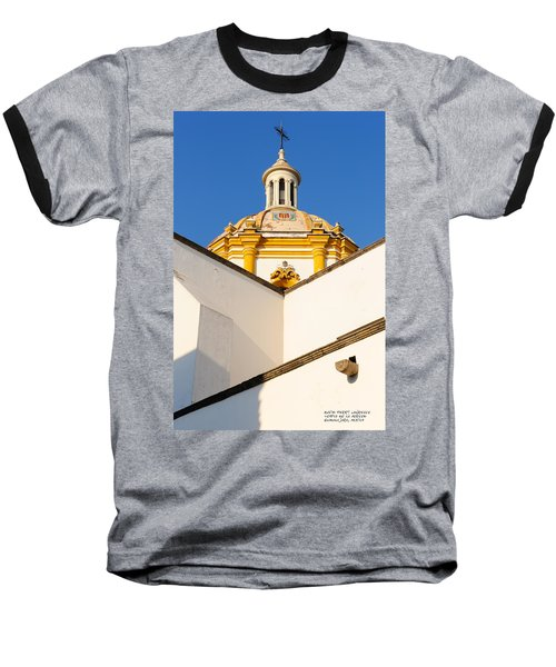 Baseball T-Shirt featuring the photograph Templo De La Merced Guadalajara Mexico by David Perry Lawrence