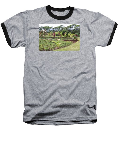 Baseball T-Shirt featuring the photograph Tending The Land by Suzanne Luft