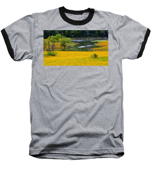 Tennessee Black-eyed Susan Field Baseball T-Shirt