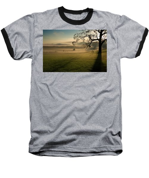 Tennessee Landscape Baseball T-Shirt by Melinda Fawver