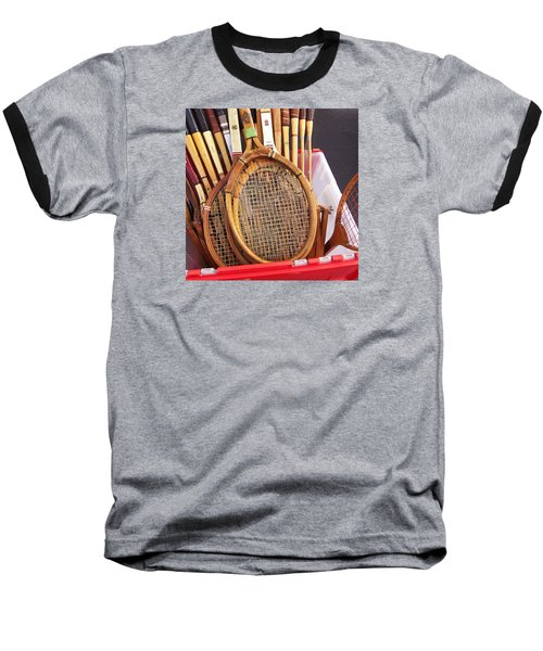 Tennis Anyone Baseball T-Shirt