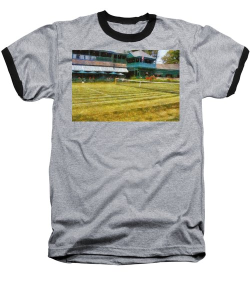 Tennis Hall Of Fame - Newport Rhode Island Baseball T-Shirt