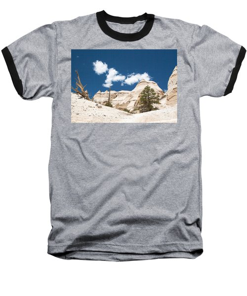 Baseball T-Shirt featuring the photograph High Noon At Tent Rocks by Roselynne Broussard
