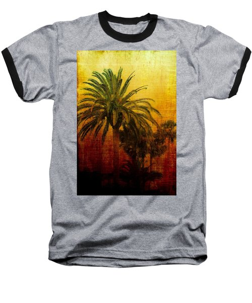 Tequila Sunrise Baseball T-Shirt by Jan Amiss Photography