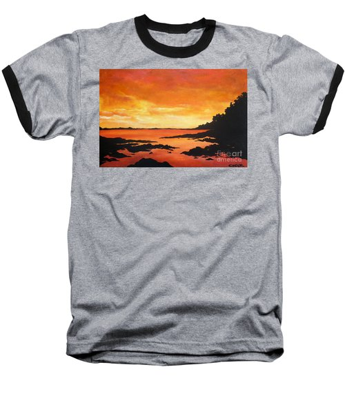 Tequila Sunset Baseball T-Shirt