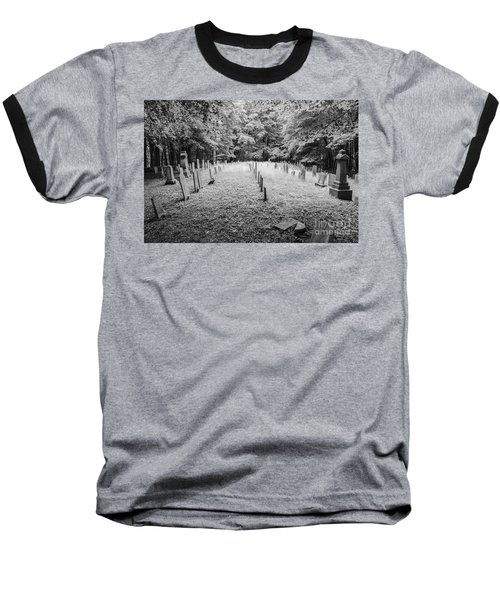 Terpenning Cemetery B And W Baseball T-Shirt