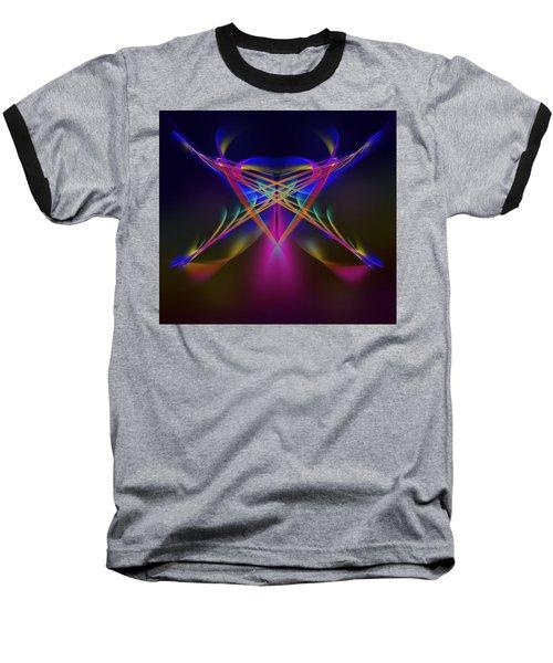 Terrestrial Butterfly Baseball T-Shirt