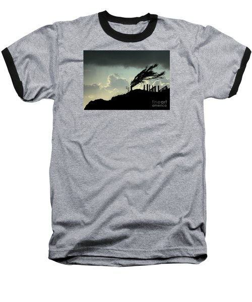 Baseball T-Shirt featuring the photograph  The Test Of Time by Nick  Boren