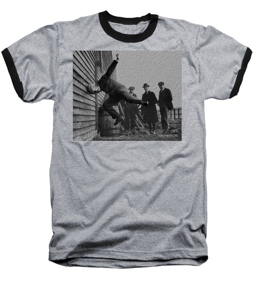 Testing Football Helmets In 1912 Ouchhhhh Baseball T-Shirt