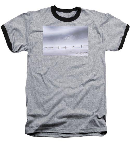 Baseball T-Shirt featuring the photograph Teton Morning by Priscilla Burgers