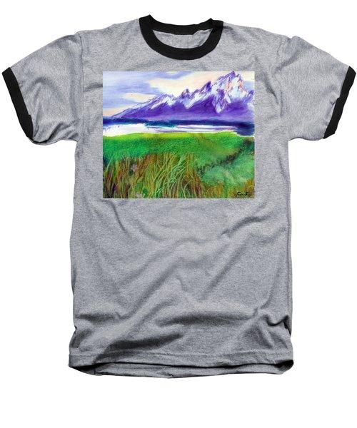 Teton View Baseball T-Shirt by C Sitton