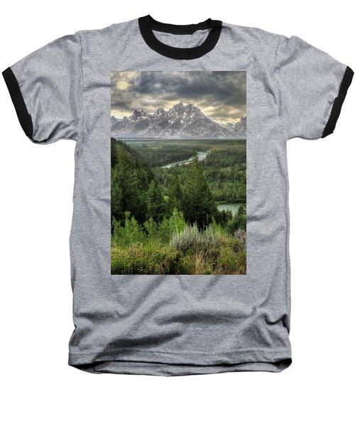 Teton Visions Baseball T-Shirt