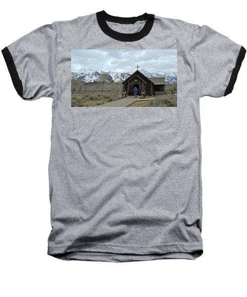 Tetons Chapel Of The Transfiguration Baseball T-Shirt
