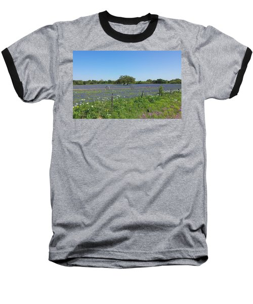 Texas Blue Bonnets Baseball T-Shirt