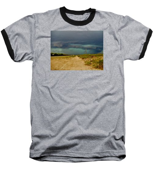 Texas Blue Thunder Baseball T-Shirt by Ed Sweeney