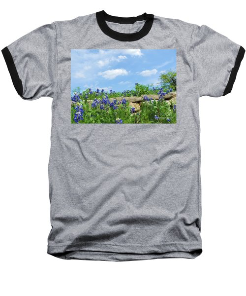 Texas Bluebonnets 08 Baseball T-Shirt