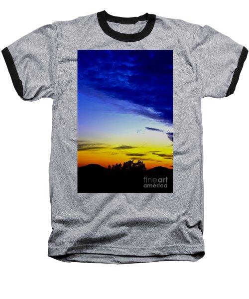 Texas Hill Country Sunset Baseball T-Shirt
