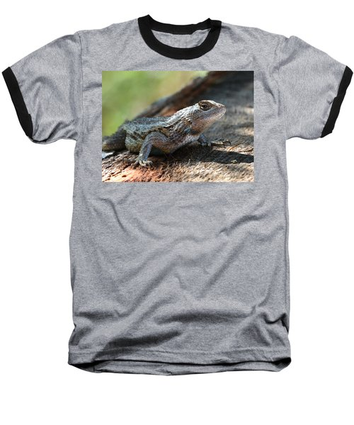 Texas Lizard Baseball T-Shirt