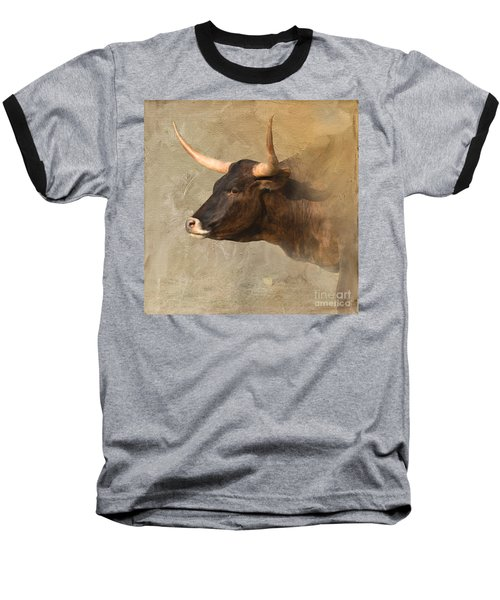 Texas Longhorn # 3 Baseball T-Shirt
