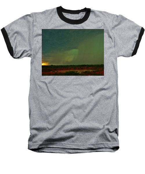 Baseball T-Shirt featuring the photograph Texas Microburst by Ed Sweeney