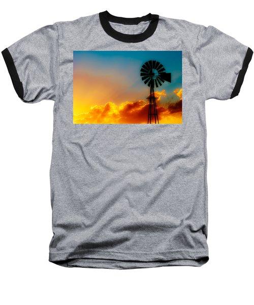 Texas Sunrise Baseball T-Shirt