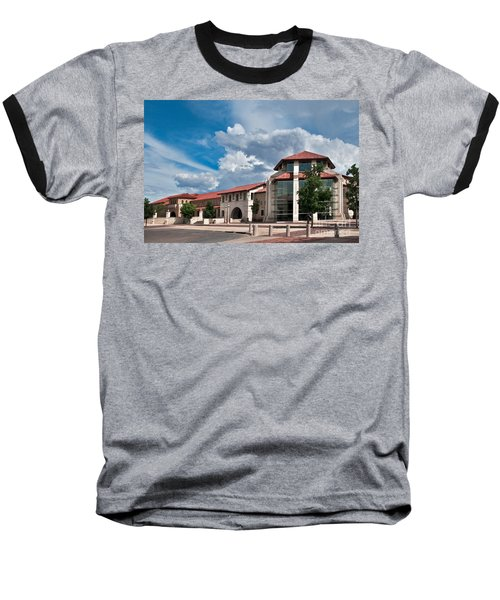 Baseball T-Shirt featuring the photograph Texas Tech Student Union by Mae Wertz