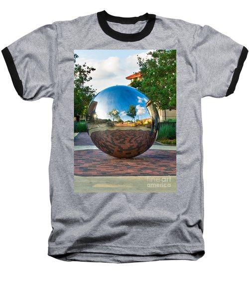 Baseball T-Shirt featuring the photograph Tech World by Mae Wertz