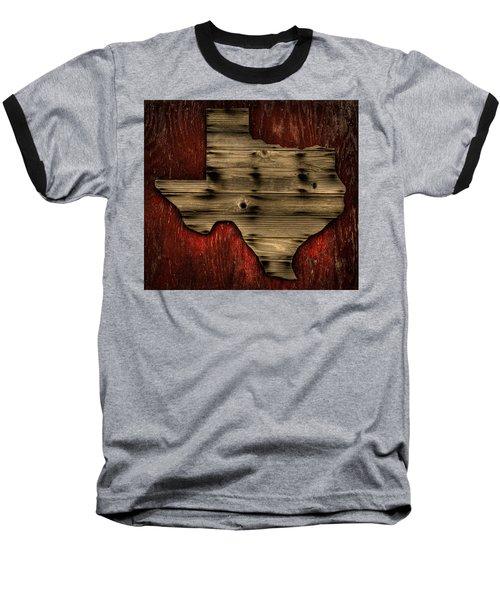 Texas Wood Baseball T-Shirt