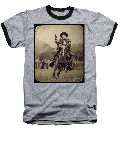 Texican Cavalry Baseball T-Shirt