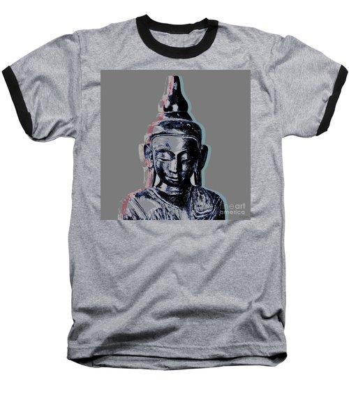 Thai Buddha #2 Baseball T-Shirt by Jean luc Comperat