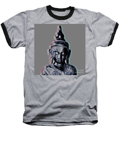 Thai Buddha #2 Baseball T-Shirt