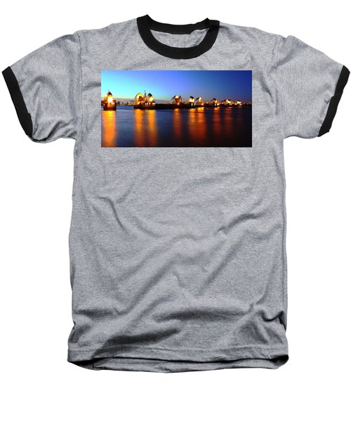 Baseball T-Shirt featuring the photograph London Thames River by Mariusz Czajkowski