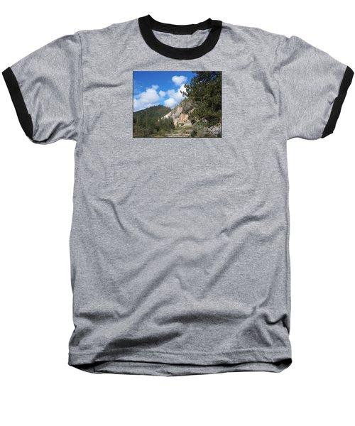 Clouds Of Hearts Baseball T-Shirt