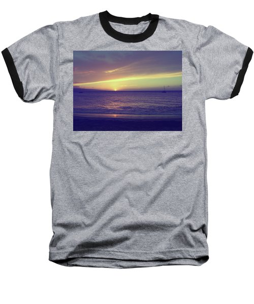 That Peaceful Feeling Baseball T-Shirt by Laurie Search