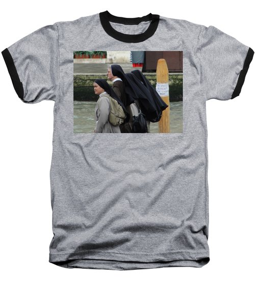 Baseball T-Shirt featuring the photograph Posted Directions by Natalie Ortiz