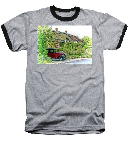 Thatched Cottages At Reybridge Baseball T-Shirt