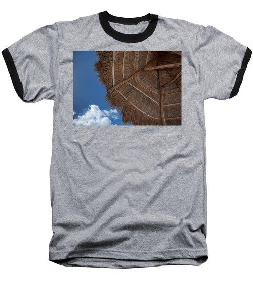 Thatched Umbrella Baseball T-Shirt