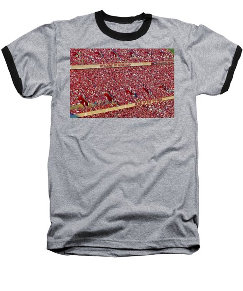 The 12th Man Baseball T-Shirt by Gary Holmes