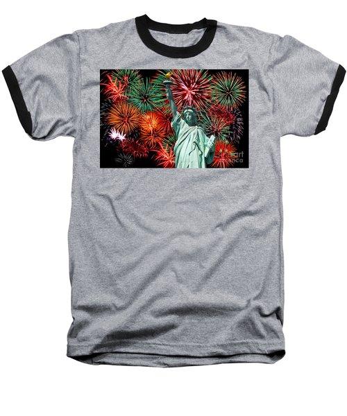 Independance Day Baseball T-Shirt