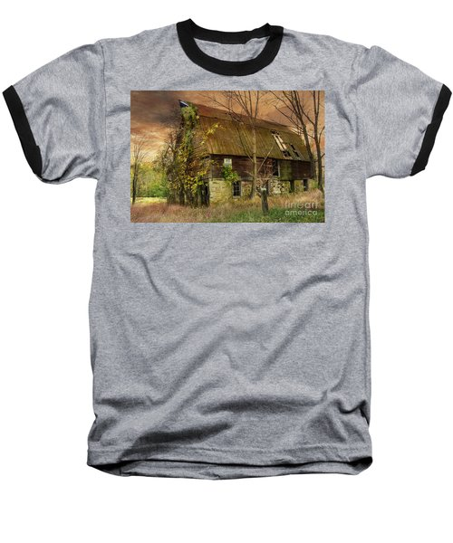 The Abandoned Barn Baseball T-Shirt