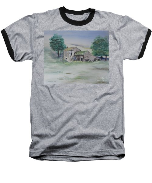 The Abandoned House Baseball T-Shirt by Martin Howard