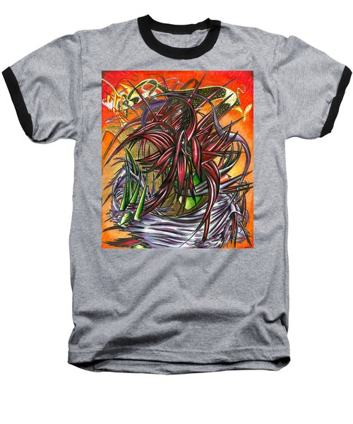 The Abysmal Demon Of Hair Baseball T-Shirt