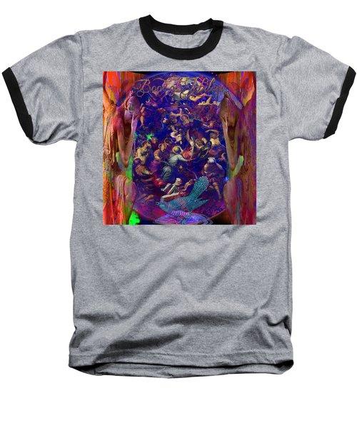 Solar Age  Baseball T-Shirt by Joseph Mosley